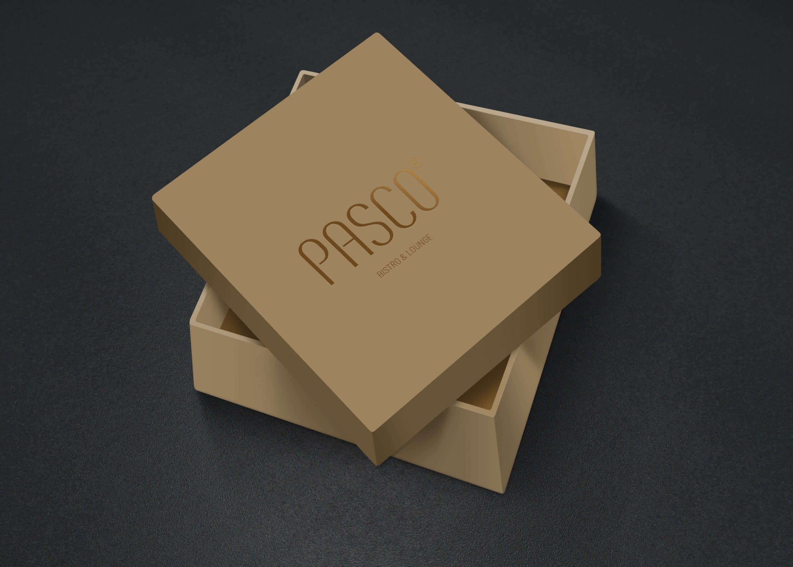 Pasco box gift cream