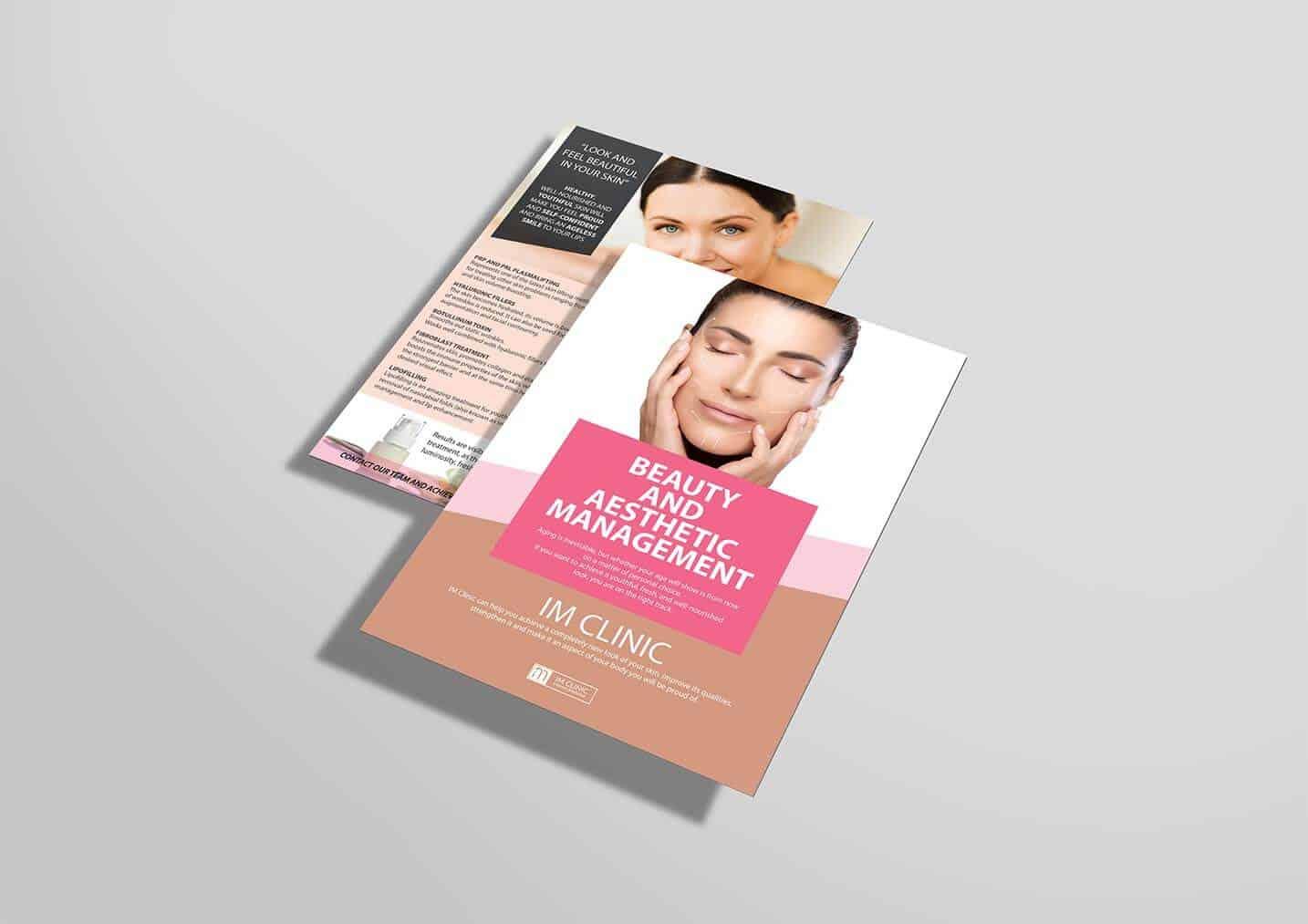 Beauty Treatment Plan Design