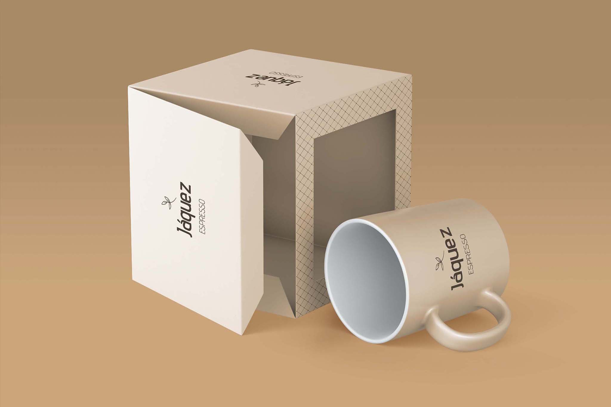 Jáquez Expresso Coffee Cup Packaging