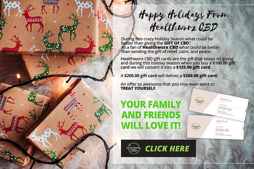 Healtworks CBD Gift Voucher