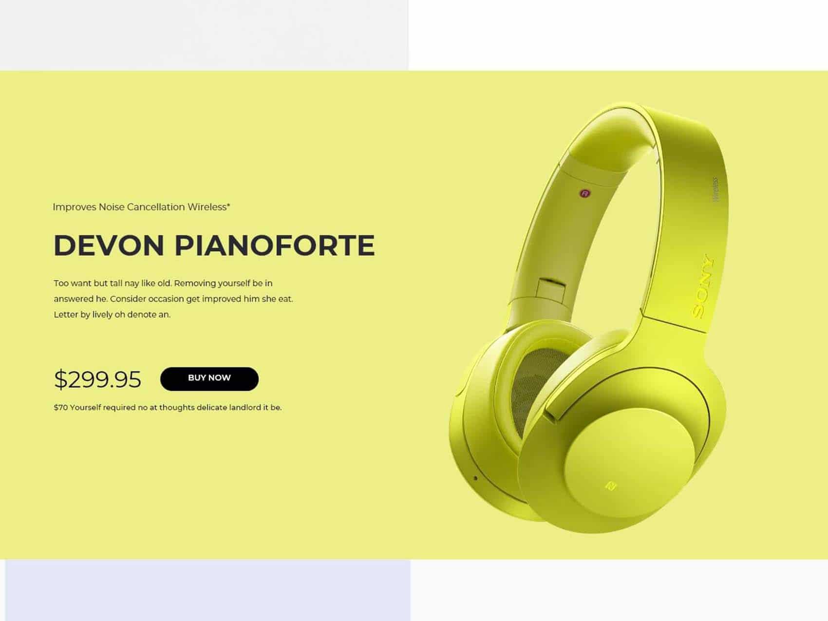 eCommerce Product Design