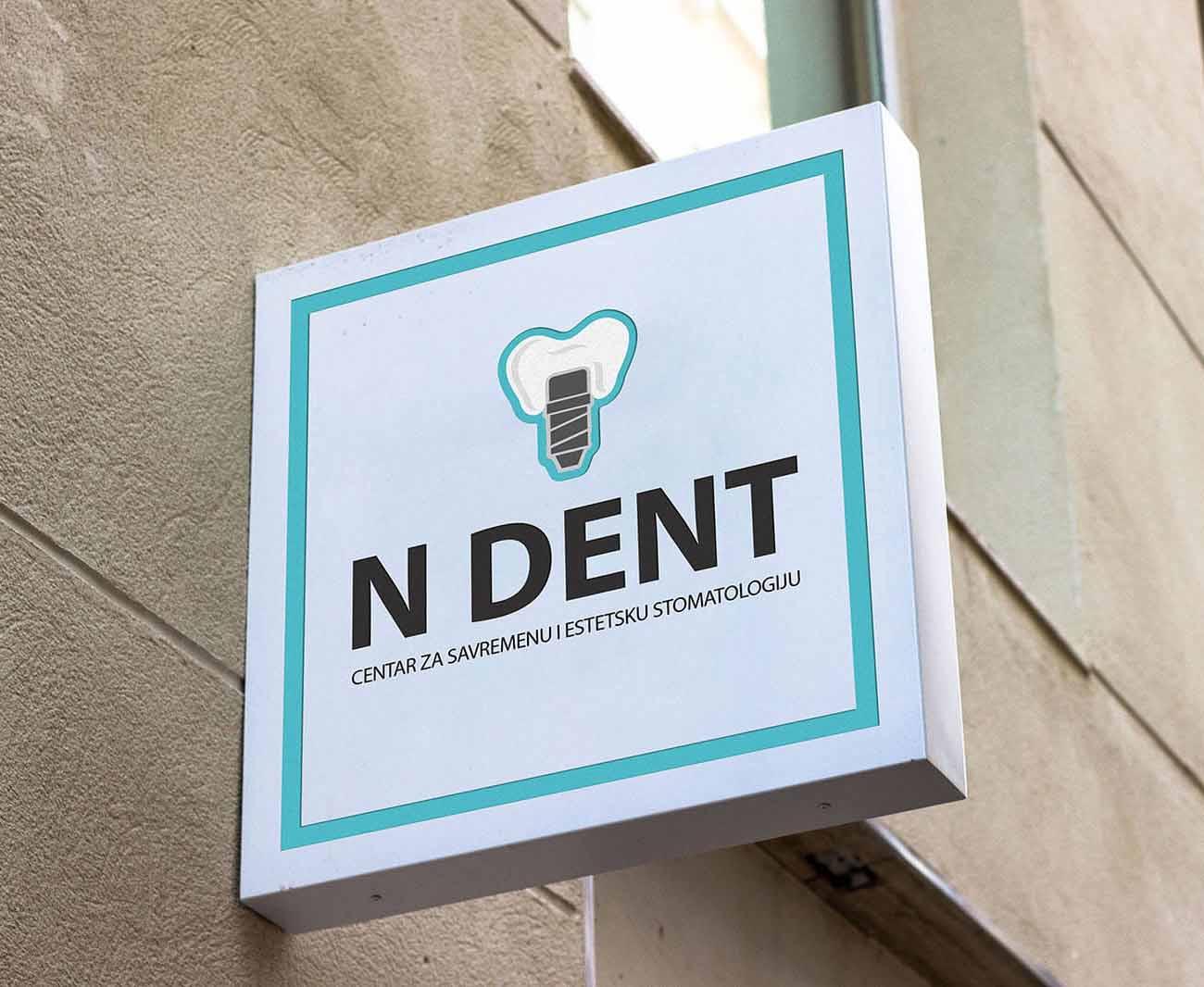 N Dent Logo